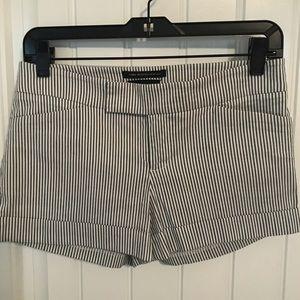 Bebe Striped Shorts